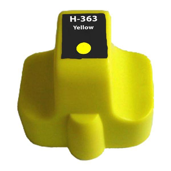 Druckerpatrone kompatibel Typ 363XL, yellow, 18ml, H363XLYkom
