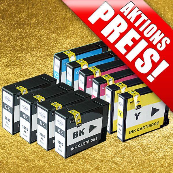 * Sparset: 10 Patronen für Canon CS2500-10-Chip