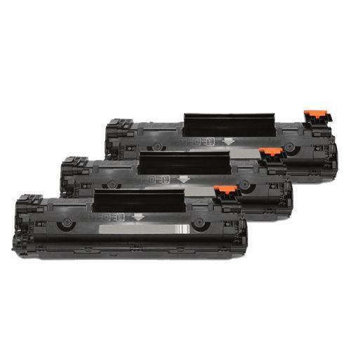 Toner-Sparset: 3 x HLP1102XXL, ersetzen CE285A, XXL 3200 Seiten