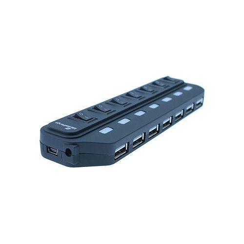 MediaRange USB 2.0 7-Port Hub, schaltbar