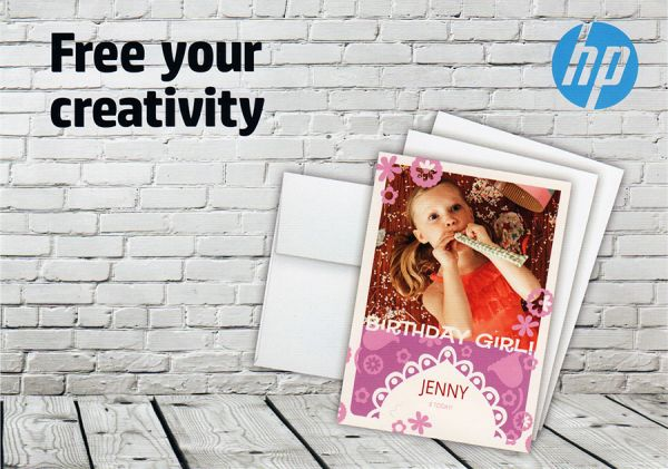 180g Foto-Karten HP, 13*18cm, Glossy, 10 Blatt