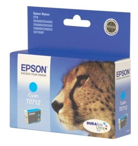 Originalpatrone Epson T071240, cyan   EO-TP0712