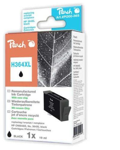 Druckerpatrone Peach H364XLBrw, schwarz