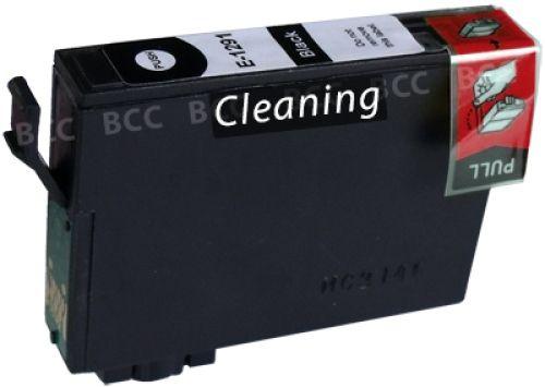 Reinigungspatrone black, kompatibel zu Epson T1291