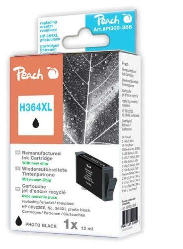 Druckerpatrone Peach H364XLPBrw, photo-schwarz