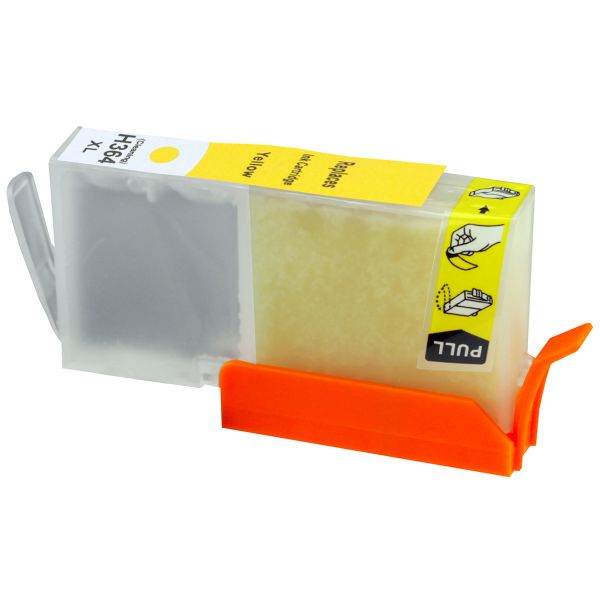 Reinigungspatrone yellow, kompatibel zu HP 364XL / CB325EE