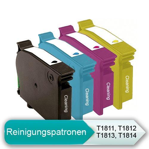 * Reinigungspatronen-Set: kompatibel zu T1811-T1814
