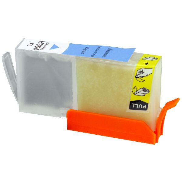 Reinigungspatrone cyan, kompatibel zu HP 364XL / CB323EE
