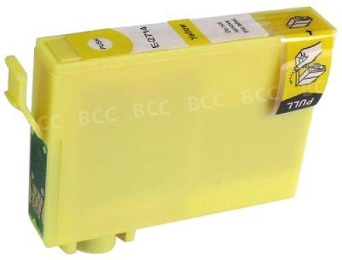 kompatible Druckerpatrone EKT2714 yellow (gelb)