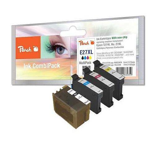 Peach MultiPack PI200-354, kompatibel zu Epson T27XL