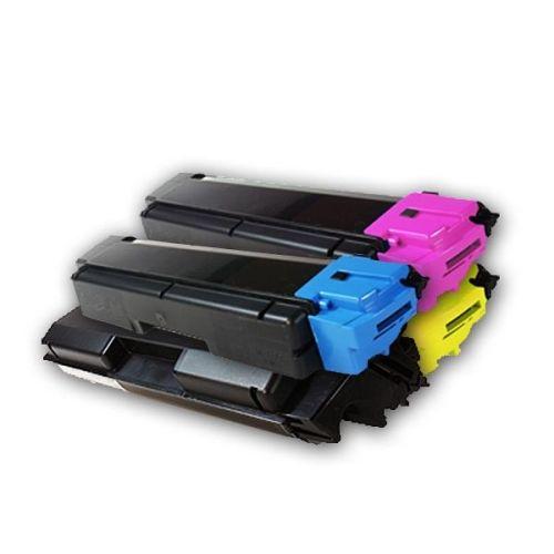 Toner-Sparset: 4 x KLT590, Rebuild für Kyocera-Drucker