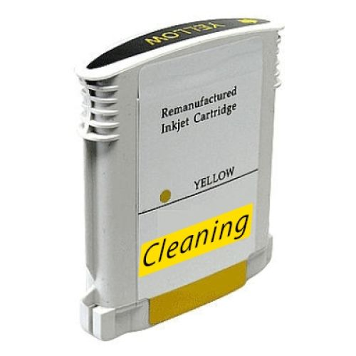 Reinigungspatrone yellow, kompatibel zu HP 88 / C9388A