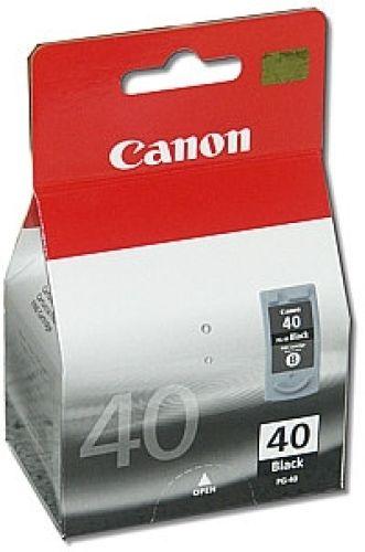 Schwarze Original Patrone Canon PG-40