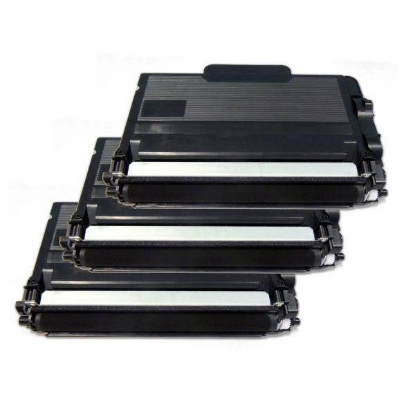 Toner-Sparset: 3 x BLT3480, rebuild für Brother-Drucker