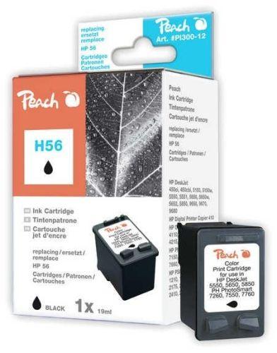 Druckerpatrone schwarz, ersetzt HP Nr. 56/C6656A, Peach