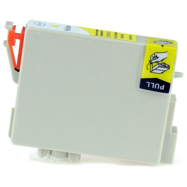 kompatible Tintenpatrone yellow, Art EKT0614