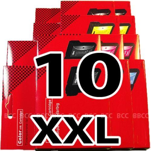 * Sparset: 10 XXL-Patronen für Brother BS985-10-XXL