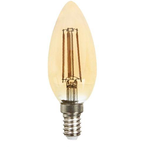 LED Kerze E14, 4W, 350lm komfort-warmweiß Filament