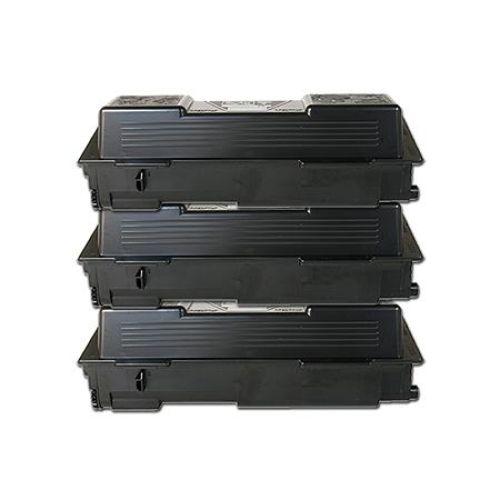 Toner-Set: 3 x schwarz, alternativ zu Kyocera TK-1140