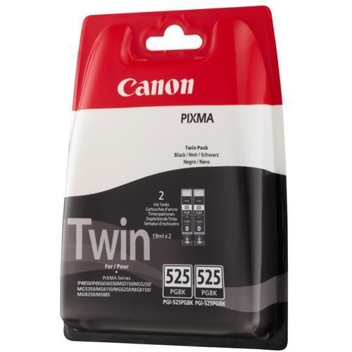 Original Canon Tintenpatrone Black Nr. 525, PGI-525PGBK Twin