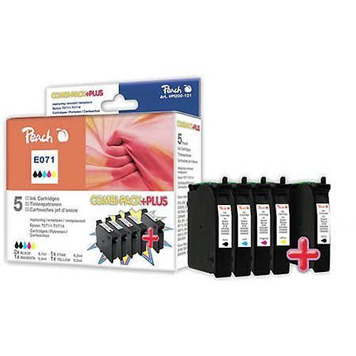 5 Peach-Patronen kompatibel zu T071, T0715