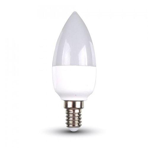 LED Kerze E14, 6W, 470lm kaltweiß