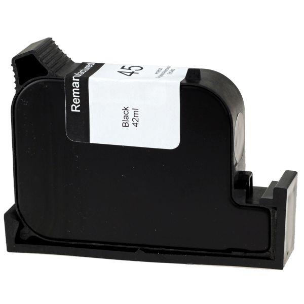 Druckerpatrone schwarz, ersetzt HP Nr. 45/51645A, H45rw