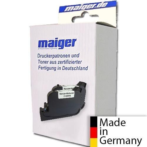 Maiger.de Premium-Patrone kompatibel zu HP Nr. 45, 2er Pack