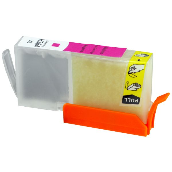 Reinigungspatrone magenta, kompatibel zu HP 364XL / CB324EE
