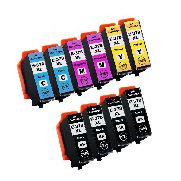 * Sparset: 10 Patronen kompatibel zu T378x / 378XL
