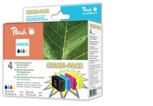 Combi-Pack Druckerpatronen Peach H364XL