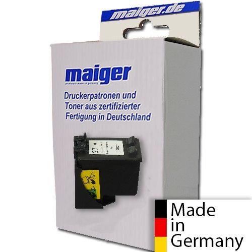 Maiger.de Premium-Patrone schwarz, ersetzt HP Nr. 27/C8727AE