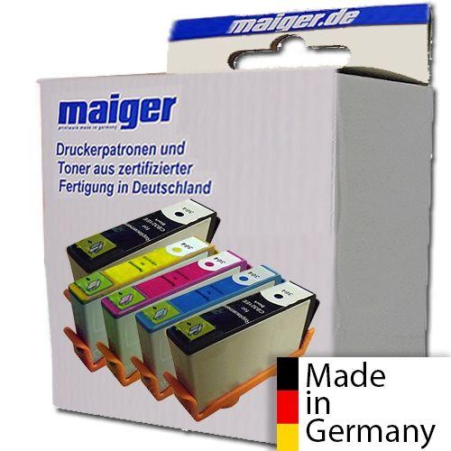 Maiger.de Premium-Combipack (2x schwarz), ersetzt HP Nr. 364