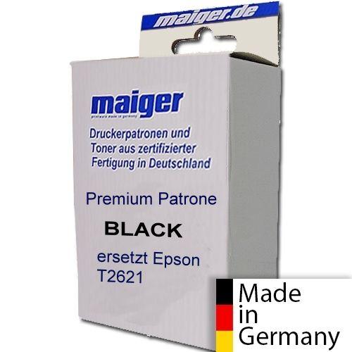 Premium-Patrone black ersetzt Epson T2621