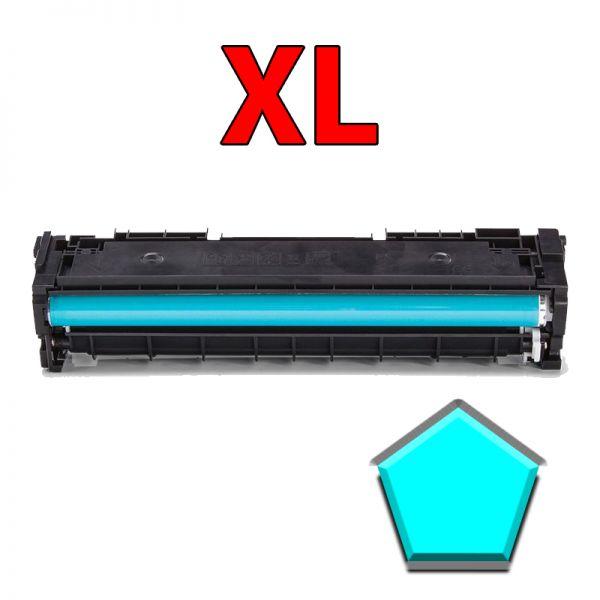 XL-Toner cyan kompatibel zu HP CF411X