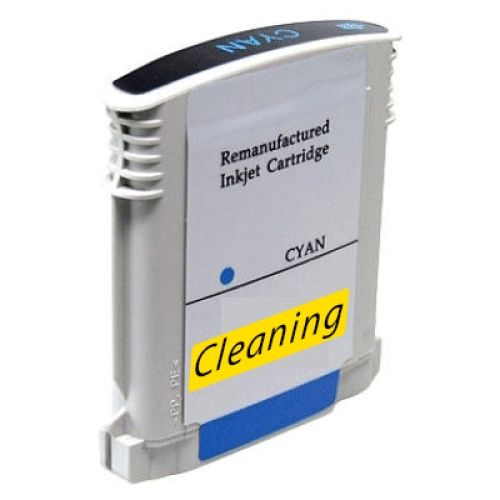 Reinigungspatrone cyan, kompatibel zu HP 88 / C9386A