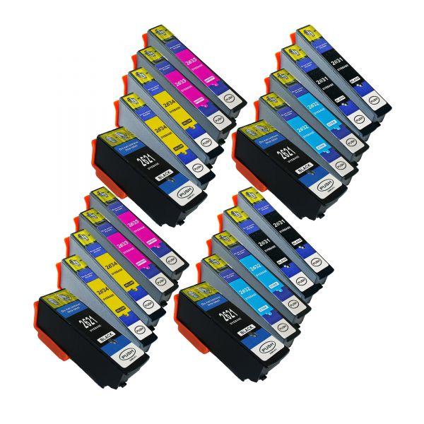 20 kompatible Patronen im Set   ES262x-20