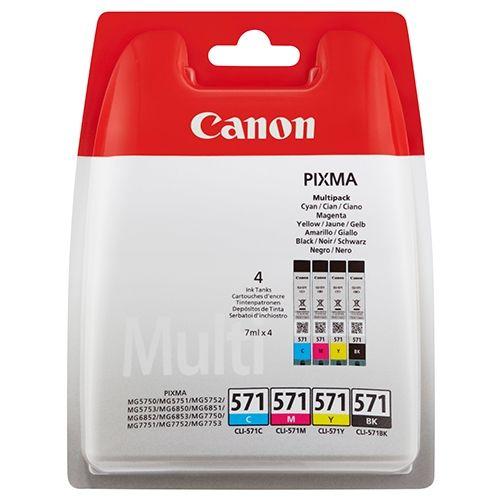 Original Canon MultiPack Nr. 571, CLI-571