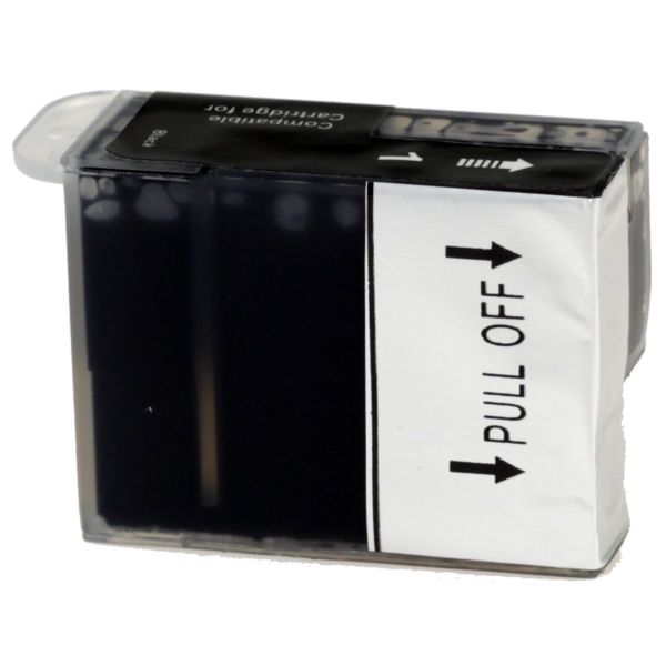 Druckerpatrone black, 100% kompatibel, Art TPCbj600bk