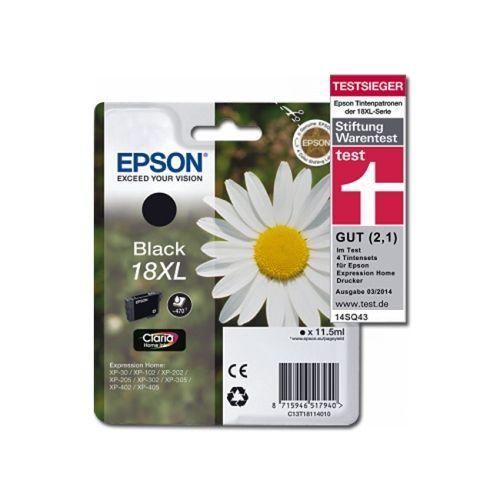 Tintenpatrone original Epson | black | 18XL | T18114010