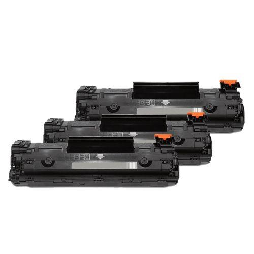 Toner-Sparset: 3 x HLP1566XXL, ersetzen CE278A, XXL 3000 Seiten