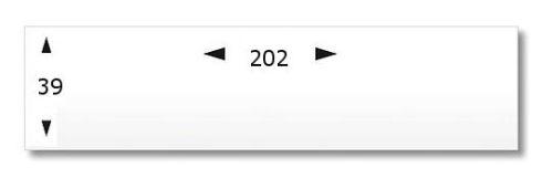 Frankierstreifen, 202 x 39 mm, ersetzt Neopost® 9943885