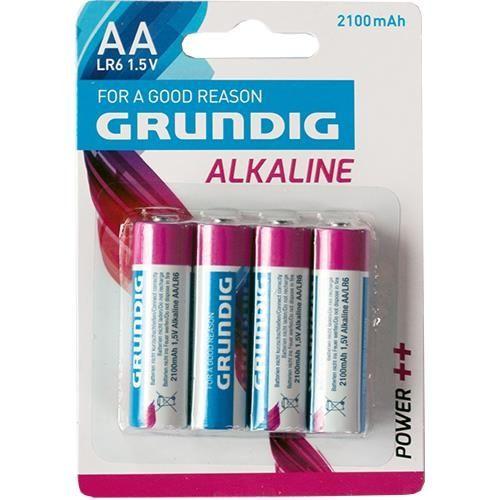 Mignon-Batterien, 4 Stück, Grundig