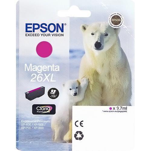 Originalpatrone Epson T263340, magenta | EO-TP2633