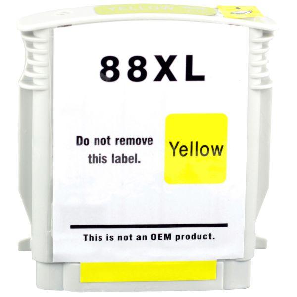 Druckerpatrone Typ 88, yellow, 28ml, H88YE