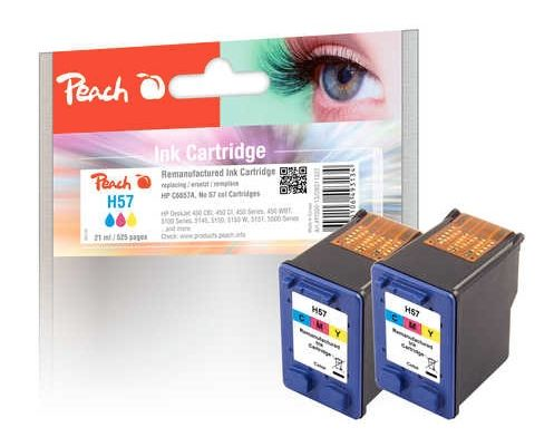 Druckerpatronen color, ersetzen HP Nr. 57/C6657A, Peach