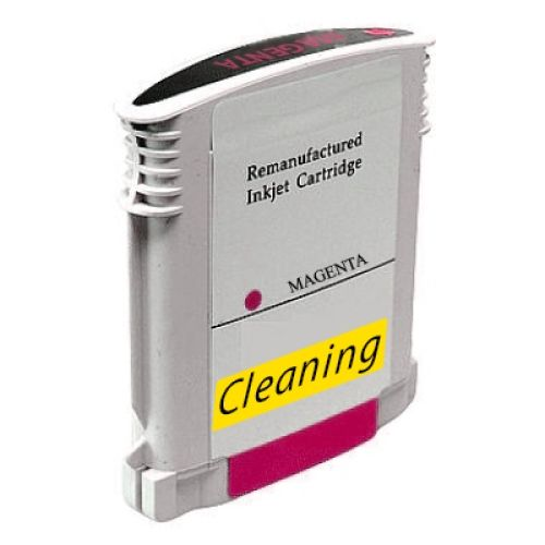 Reinigungspatrone magenta, kompatibel zu HP 88 / C9387A