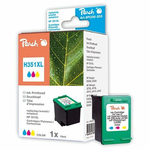 Peach Druckerpatrone PI300-205, kompatibel zu HP 351XL color