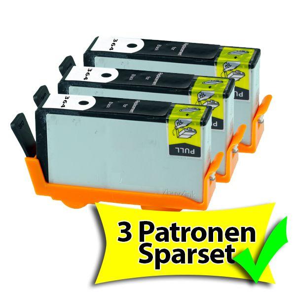 * Aktion: 3 schwarze XL-Patronen für HP, ersetzen Nr. 364