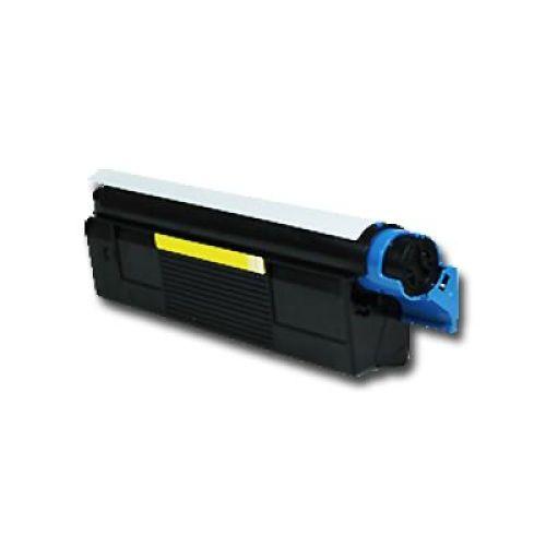 Toner OLC3100Y, Rebuild für Oki-Drucker, ersetzt Oki 42127405